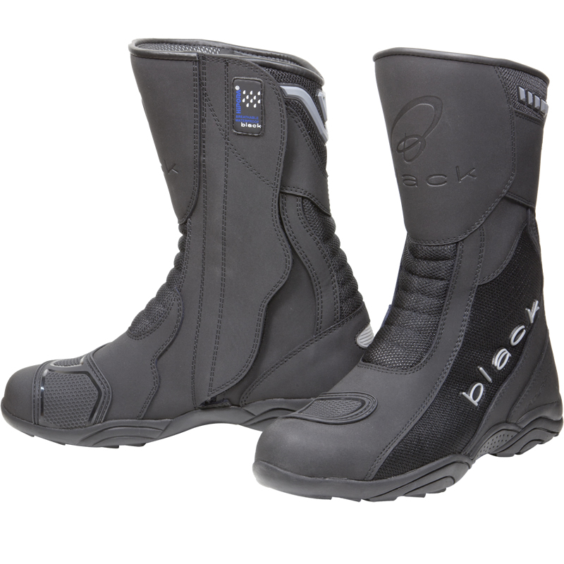 Motorcycle Boots You have to wear an EC approved helmet to ride a motorcycle, but you can wear whatever footwear you want; anything from a sturdy climbing boot to a Gucci loafer. But the legs and feet are very vulnerable on a motorcycle.