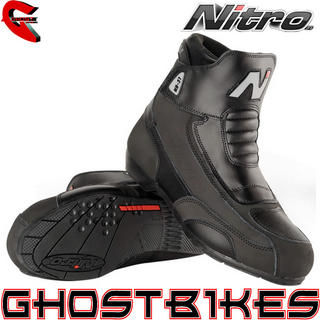 View Item Nitro NB-31 Short Motorcycle Boots