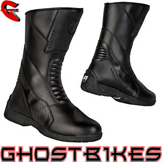 Akito Monza Leather Motorcycle Boots