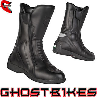 View Item Akito Intra Leather Motorcycle Boots