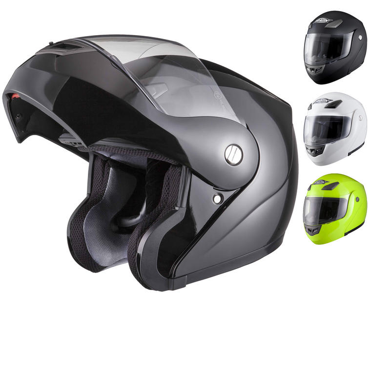 Shox Bullet Flip Front Motorcycle Helmet