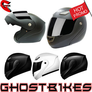 View Item Shox Bullet Flip Front Motorcycle Helmet