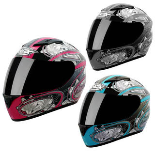 View Item Shox Axxis Lily Motorcycle Helmet