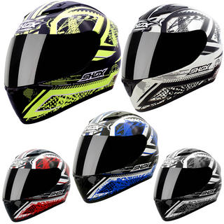 View Item Shox Axxis Impact Motorcycle Helmet