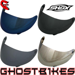 View Item Shox Axxis Tinted Visors