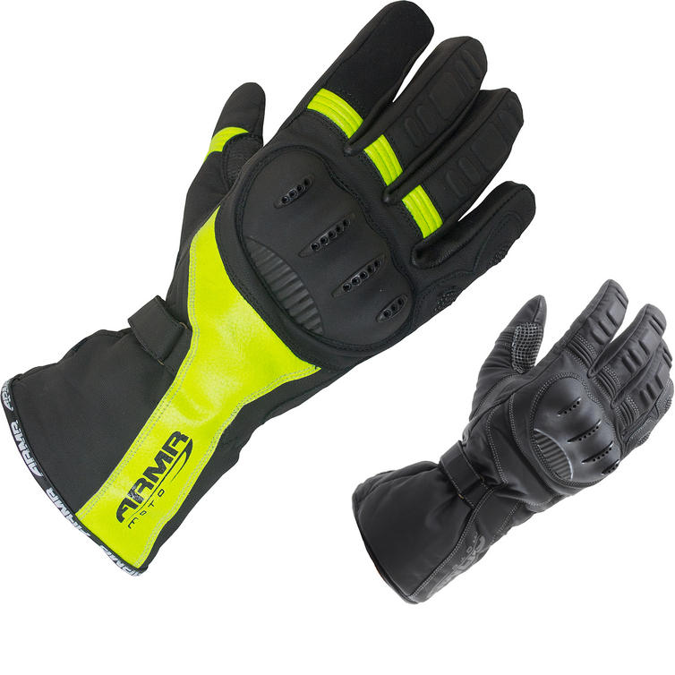 ARMR Moto WPL250 Leather Motorcycle Gloves