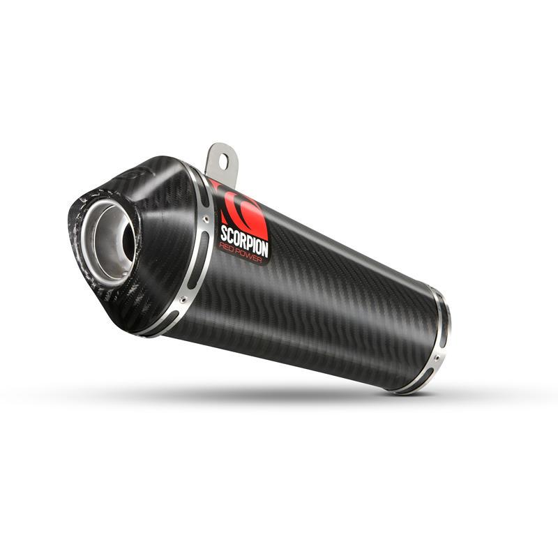 Scorpion Power Cone Carbon Oval Exhaust Carbon Outlet Honda CBR 1000 RR 08-11