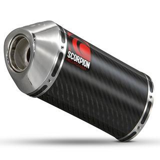 Scorpion Carbine Carbon Extreme Exhaust Suzuki GSF 1250 Bandit 07>Current
