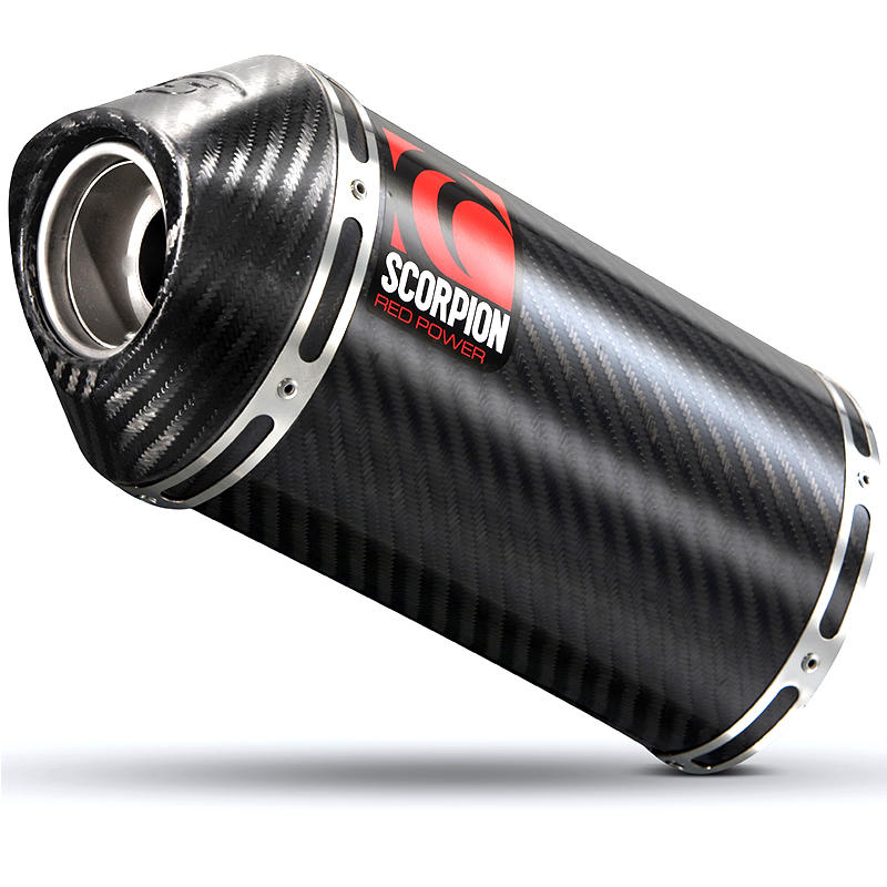 Scorpion Carbine Carbon Extreme Exhaust Carbon Outlet Suzuki GSF 1250 Bandit 07>Current