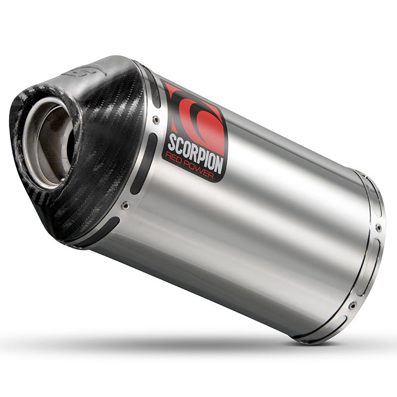 Scorpion Carbine Stainless Extreme Exhaust Carbon Outlet Suzuki GSF 1250 Bandit 07>Current