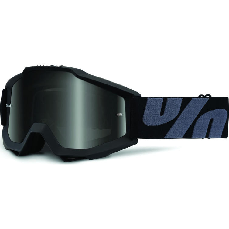 100% Accuri UTV/ATV Sand Dark Smoke Motocross Goggles