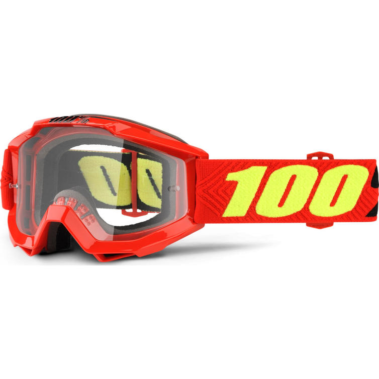 100% Accuri Clear Youth Motocross Goggles