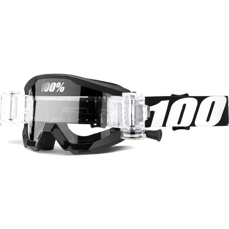 100% Strata Mud Clear Roll-Off Junior Motocross Goggles