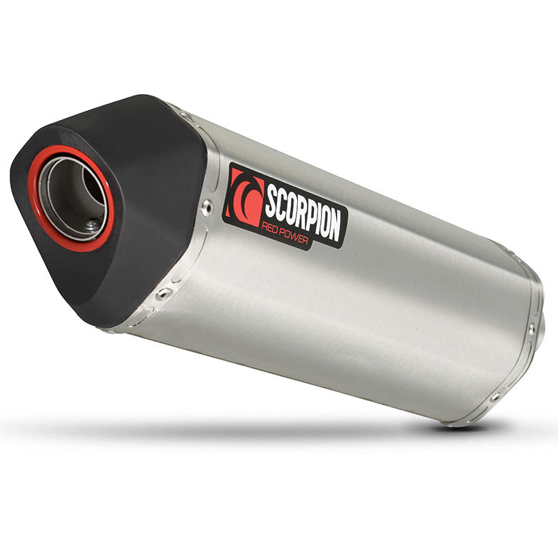 Image of Scorpion Serket Stainless Oval Exhaust Honda VFR 1200 with panniers 10-Current