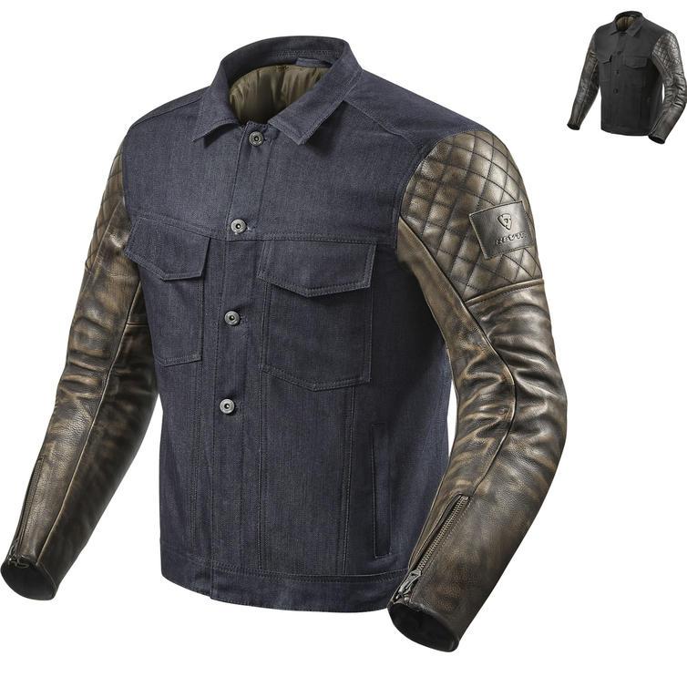 Rev It Crossroads Leather Motorcycle Jacket