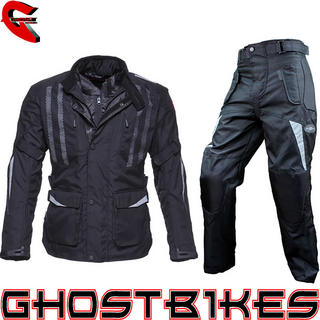 Black Evolution Jacket with Free Trousers