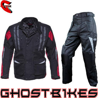Black Evolution Jacket Red with Free Trousers