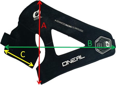 Oneal Shoulder Support Sizing Guide