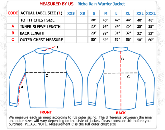 http://images.esellerpro.com/2189/I/58/Richa-Rain-Warrior-Jacket-Size-Guide.jpg