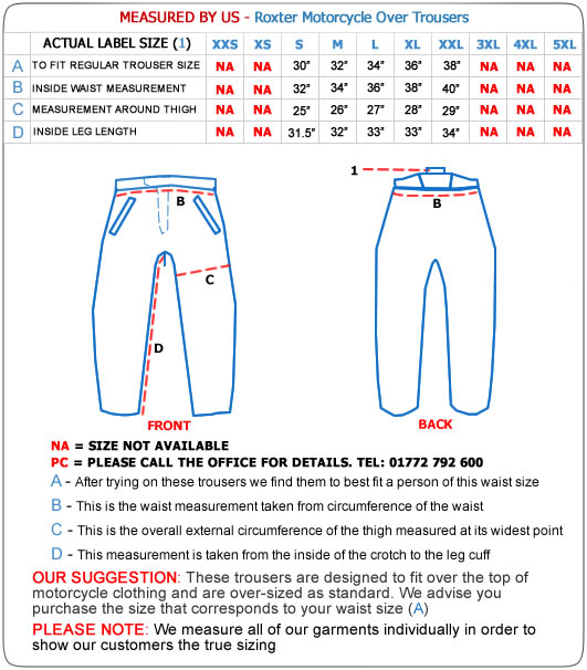 Roxter Over Trousers