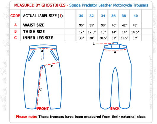 Spada Predator Motorcycle Trousers