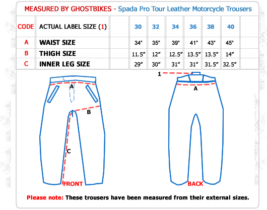 Spada Pro Tour Motorcycle Trousers