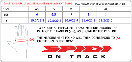 Gloves Size Guide