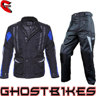 View Item Black Evolution Jacket Blue with Free Trousers