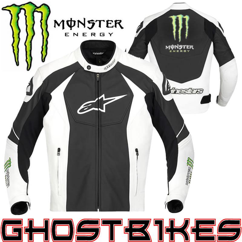 Monster motorradjacke