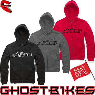 View Item Alpinestars Blaze Zip Fleece Hoodie