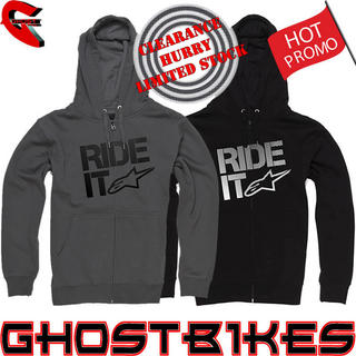 View Item Alpinestars Ride It Tech Zip Fleece Hoodie
