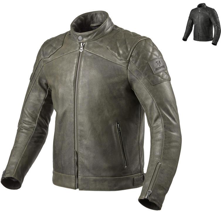 Rev It Cordite Leather Motorcycle Jacket