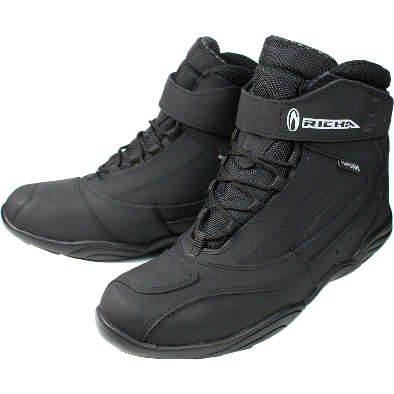 RICHA-SLICK-HIPORA-WATERPROOF-MOTORBIKE-MOTORCYCLE-SHORT-ANKLE-BOOTS-GHOSTBIKES