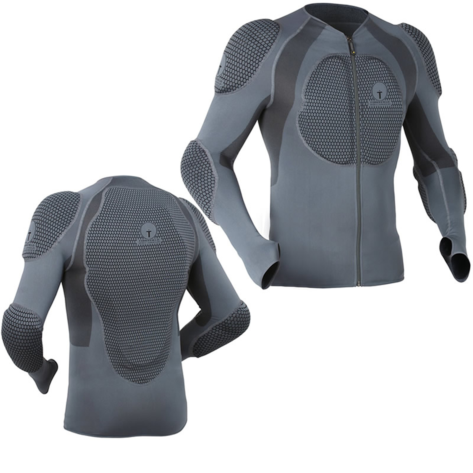 Forcefield Pro Shirt Snowboard Impact Body Armour Back Protection ...