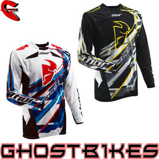View Item Thor Core S13 Sweep Motocross Jersey
