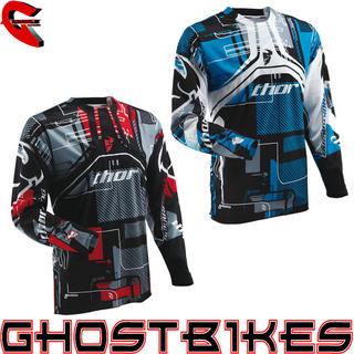 View Item Thor Flux S13 Circuit Motocross Jersey