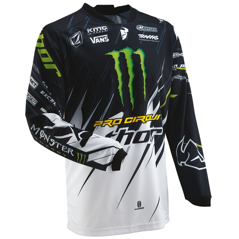Thor 2013 Phase S13 Pro Circuit Monster Energy Mx Shirt