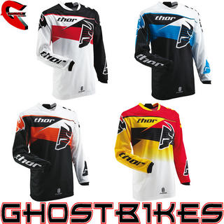 View Item Thor Phase S13 Streak Motocross Jersey