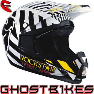 View Item Thor Quadrant Rockstar Energy Motocross Helmet