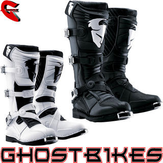 View Item Thor Quadrant 3 Ratchet Motocross Boots