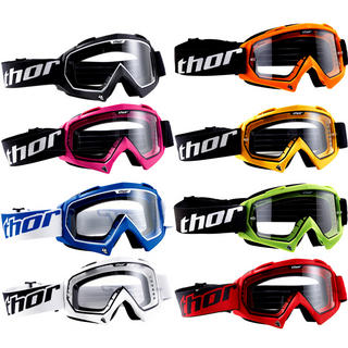 View Item Thor Enemy Solid Motocross Goggles