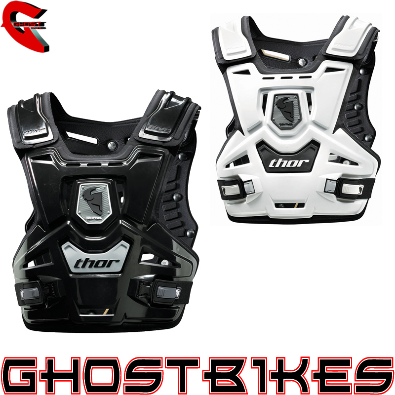 THOR SENTINEL BODY GUARD BACK CHEST PULL OVER BODY ARMOUR ROOST GUARD GHOSTBIKES Enlarged Preview