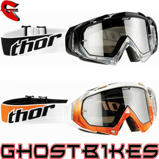 View Item Thor Hero Plain Motocross Goggles