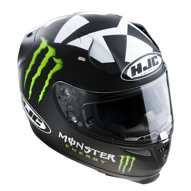 hjc r pha 10 ben spies monster energy 2 2012 moto gp replica casque moto. Black Bedroom Furniture Sets. Home Design Ideas