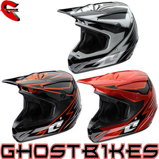 View Item One Industries Atom Bolt Motocross Helmet