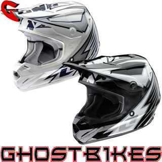 View Item One Industries Youth Atom Bolt Motocross Helmet