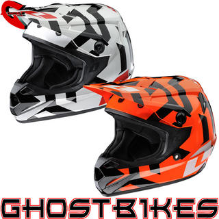 View Item One Industries Youth Atom Labyrinth Motocross Helmet