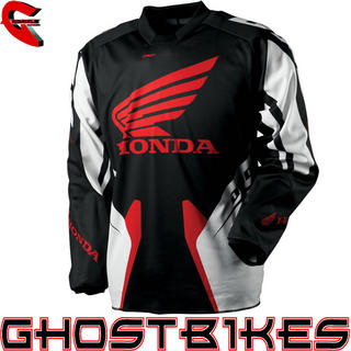 View Item One Industries 2013 Carbon Honda Motocross Jersey