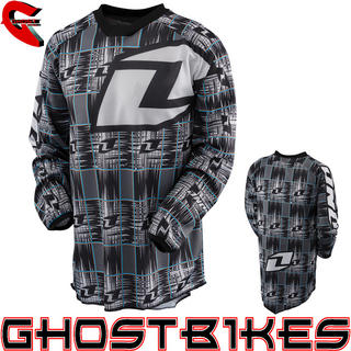 View Item One Industries 2013 Youth Carbon Static Motocross Jersey