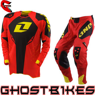 View Item One Industries 2013 Defcon Red Motocross Kit